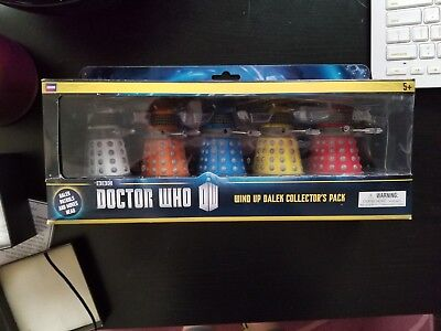 BBC Doctor who wind up dalek collector's pack