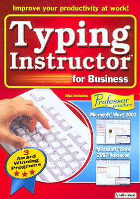 Typing Instructor for Business 2.0 - Windows Free Shipping!