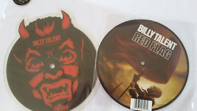 "Billy Talent  ""Devil in a midnight mass/Red Flag""  2 x limitierte 7"" Picture"