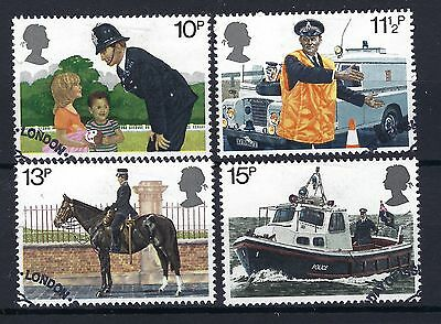 GB 1979 150th Anniversary of the met Police SG 1100 to 1103 SELECTED VFU.