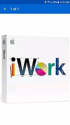 Apple iWork V9.0.3 MB942Z/A - New Sealed x TWO (2) Quantities