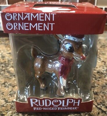 Rudolph The Red Nosed Reindeer American Greeting Collectible Christmas Ornament