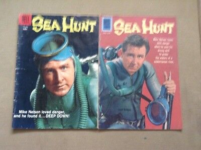 Sea Hunt 2 Comics -- The First Issue And The Last