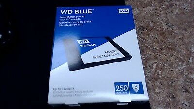 NEW SEALED WD - Blue PC SSD 250GB Internal SATA Solid State Drive VERY FAST SHIP