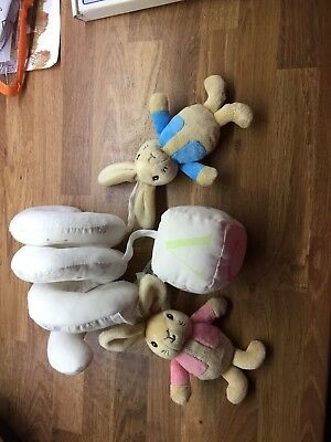 peter rabbit cot/Car Seat Spiral Limited Edition Mothercare