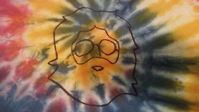 Grateful Dead Jerry Garcia Tie Dye T- Shirt , size Large