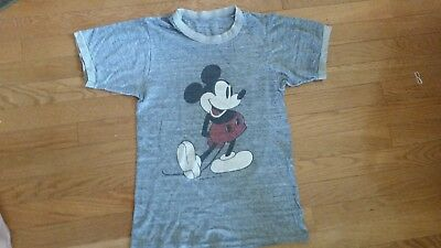 Vintage Mickey Mouse T Shirt 1971