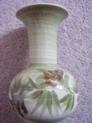 Collectable Jersey pottery England porcelain vase,big