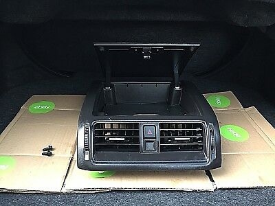 2010-2012 Ford Fusion (Black) Center Dash Storage  Console Cubby A/c Vents Oem