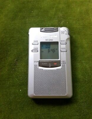 Panasonic RR-QR80 Voice Recorder Tested and Working! Free Shipping
