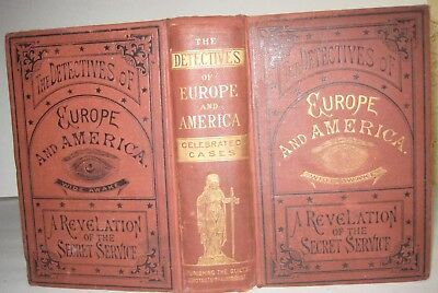 1880🔥 Detectives Of Europe & America_Life In Secret Service_Police Murder Thief