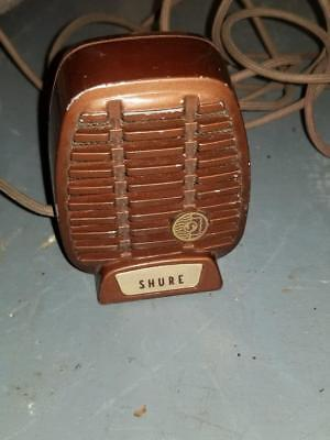 Vintage Shure Model Cr 80D Microphone Chicago