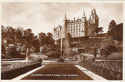 Dunrobin Castle From The Gardens, GOLSPIE, Sutherland RP