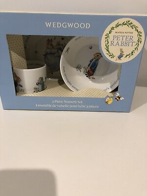 Wedgwood 3 Piece Nursery Set RRP $64.95