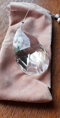 Large Clear Crystal Prism