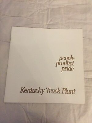 people Product Pride , Kentcky Truck Plant Book