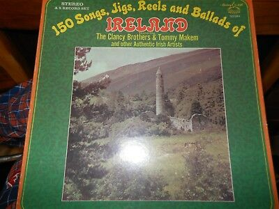 150 Songs, Jigs, Reels and Ballads of Ireland   Murray Hill 920344  5 record set