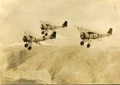 Original Photograph-US Navy High Hatters Airplanes in Flight-1931