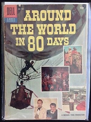 AROUND THE WORLD IN 80 DAYS FC #784 aka #1 Lot of 1 Dell Comic Book!