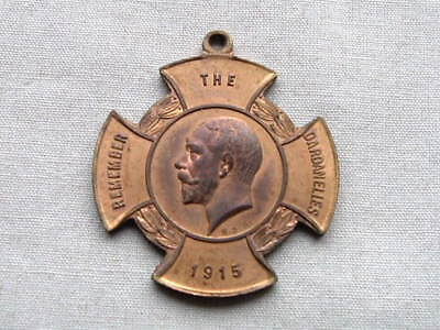 Old Wwi Ww1 Australia Day Remember The Dardanelles 1915 Anzac Medal Badge Pin