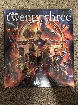 D23 Disney Twenty Three Magazine Avengers: Infinity War Summer 2018 - Brand New