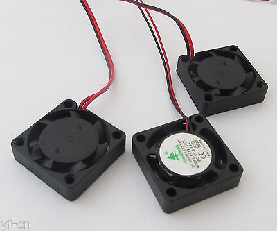 1pc Mini Brushless DC Cooling Fan 25x25x7mm 25mm 2507 5V 0.10A 7 blades 2pin -US