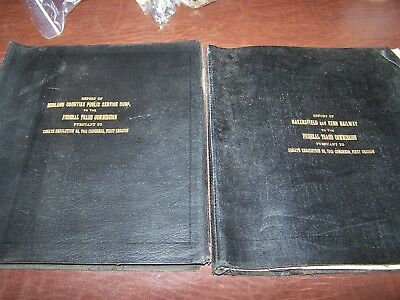 1929 Fed.Trade Reports Bksfld&Kern Electric Railway+Midland Counties Fresno, Cal