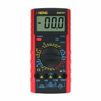 ANENG AN8301 Portable Digital Multimeter AC/DC Voltage Current Resistance Cap O3