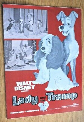 1971 Lady and the Tramp - Advance Exhibitor's Campaign Book