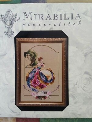 Out of print Villa Mirabilia chart with threads and beads