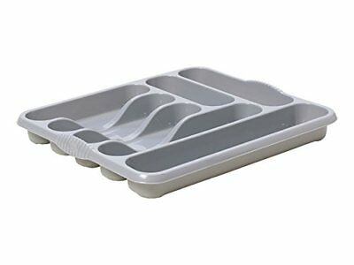 Whatmore 11300Electronics–Band(7 Compartment Cutlery Tray Plateado)