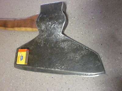 Large Broad axe 10lb old tool