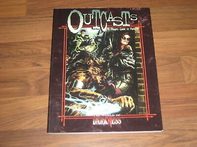 WOD World Of Darkness Outcasts A Players Guide to Pariahs White Wolf WW3095