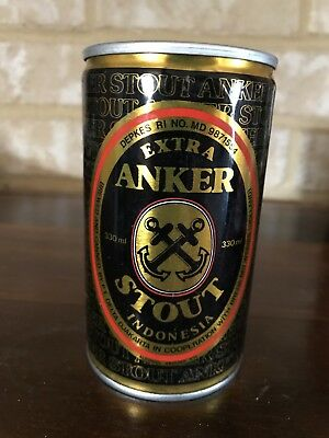 COLLECTABLE Anker Stout Indonesia BEER CAN, 330ml