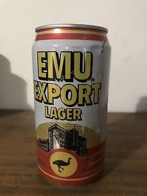 Collectable Emu Export Lager LNG Energy BEER CAN 1989