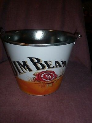 Jim Beam Large Bucket Bourbon Whisky Collectable Unused