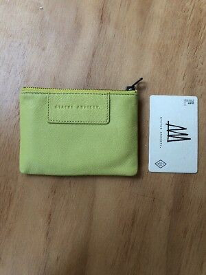 BRAND NEW Status Anxiety Anarchy Purse Lime Green