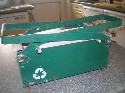 Used Block Log Briquette Maker Recycle Newspaper for Free Heat