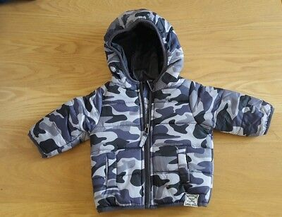 Pumpkin Patch Camouflage Puffer Jacket Size 000 Great Condition Never Worn