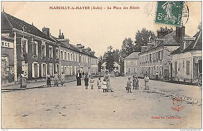 10-Marcilly Le Hayer-La Place Des Hotels-N°R2040-F/0323