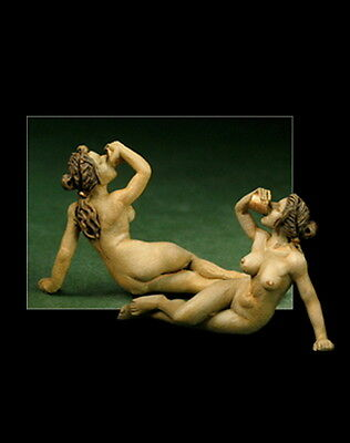Classic Nude VII 1:43 FigurEl Viejo Dragon miniaturas Pin up Figuren Metall LD18