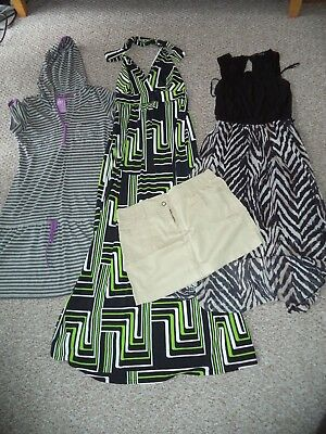 Women's 3x dresses and 1x mini skirt bundle size 8