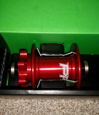 Hope Pro 4 Front Mountain Bike Hub 36 Hole QR red