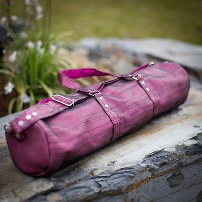 Handmade Yoga Mat Bag With Detachable Strap - 8 Colours Available