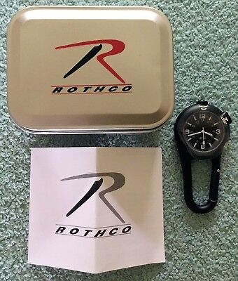 Rothco Clip Watch with LED Light new boxed Free Shipping