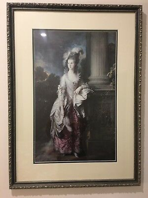 Antique Framed Print - FRENCH PROVINCIAL, Paris Chic LARGE