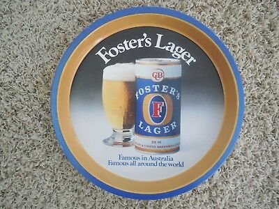 Fosters Lager - Metal Drinks Tray - Cub ... Beer