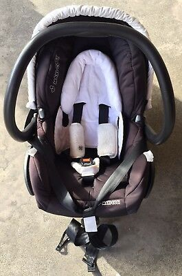 Maxi Cosi Mico Infant Baby Capsule Carrier Car Seat Travel System 80102183BS