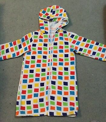 Speedo Childrens Beach Jacket. Size L multi colored checks excellent condition