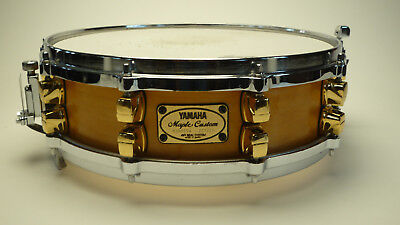"YAMAHA MSD0104 Maple Custom Snare Drum 14""×4"" Made in Japan"